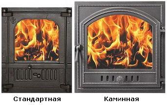 Топочные дверцы для банных печей Славянка и Жар птица